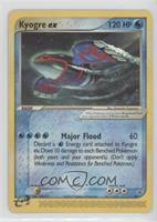 Kyogre EX (Black Star)