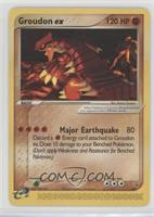 Groudon EX [Noted]
