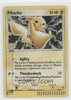 1997-Now Pokémon - Miscellaneous Promos & Energies #012 - Pikachu (Black Star)