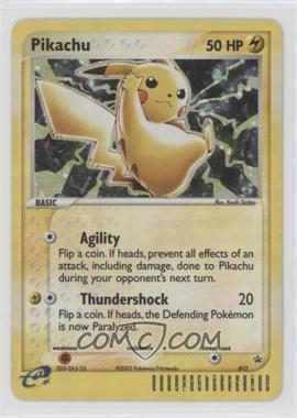 1997-Now Pokémon - Miscellaneous Promos & Energies #012.1 - Pikachu (Black Star)