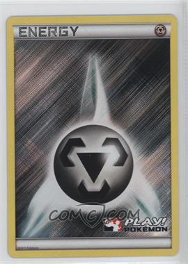 1997-Now Pokémon - Miscellaneous Promos & Energies #112 - Metal Energy (Play! Pokemon Black and White)