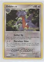Gabite (Mysterious Treasures Prerelease Stamp)