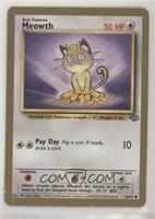 Meowth (Gold Border