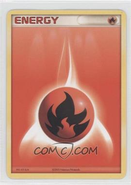 1997-Now Pokémon - Miscellaneous Promos & Energies #FIEN.1 - Fire Energy (2005)