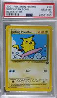 Surfing Pikachu [PSA 10 GEM MT]
