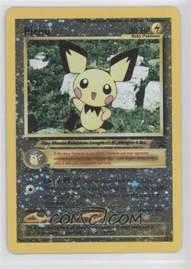1999-2002 Pokemon Wizards of the Coast - Exclusive Black Star Promos #35 - Pichu
