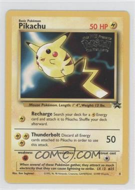 1999-2002 Pokemon Wizards of the Coast - Exclusive Black Star Promos #4.1 - Pikachu