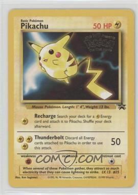 1999-2002 Pokemon Wizards of the Coast - Exclusive Black Star Promos #4.1 - Pikachu