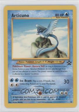1999-2002 Pokemon Wizards of the Coast - Exclusive Black Star Promos #48 - Articuno