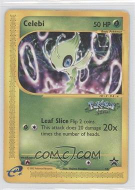 1999-2002 Pokemon Wizards of the Coast - Exclusive Black Star Promos #50 - Celebi