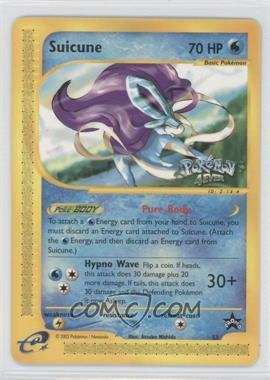 1999-2002 Pokemon Wizards of the Coast - Exclusive Black Star Promos #53 - Suicune