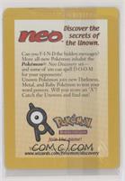 Neo Secret Card