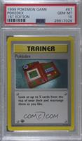 Pokedex [PSA 10 GEM MT]