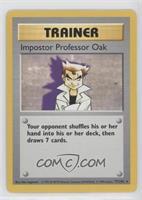 Impostor Professor Oak