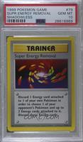 Super Energy Removal [PSA10GEMMT]
