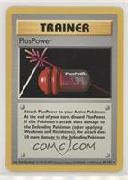 PlusPower [Noted]