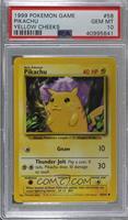 Pikachu (Yellow Cheeks) [PSA10GEMMT]