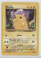 Pikachu (Yellow Cheeks) [VeryGood‑Excellent]