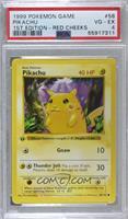 Pikachu (Red Cheeks) [PSA4VG‑EX]