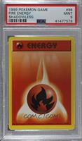 Fire Energy [PSA 9 MINT]