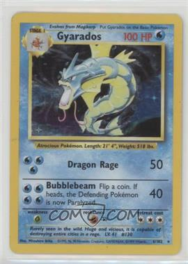 1999 Pokemon Base Set - Booster [Base] - Unlimited #6 - Gyarados