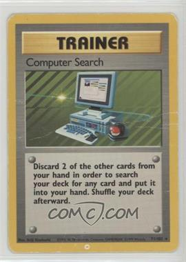 1999 Pokemon Base Set - Booster [Base] - Unlimited #71 - Computer Search