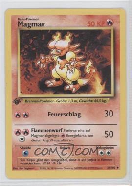 1999 Pokemon Base Set - Booster Pack [Base] - German 1st Edition #36 - Magmar
