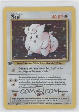 1999 Pokemon Base Set - Booster Pack [Base] - German 1st Edition #5 - Clefairy