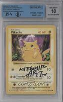 Pikachu (Red Cheeks) [BGS/JSA Certified Auto]