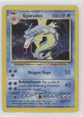 1999 Pokemon Base Set - Booster Pack [Base] - Unlimited #6 - Gyarados