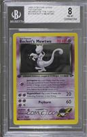 Rocket's Mewtwo [BGS 8 NM‑MT]