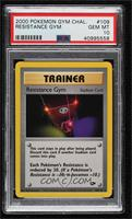 Resistance Gym [PSA 10 GEM MT]