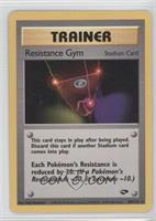 Resistance Gym