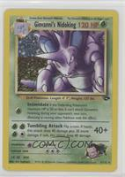 Giovanni's Nidoking