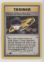 Minion of Team Rocket