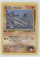 Brock's Rhyhorn