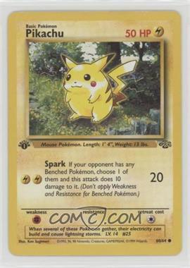 1999 Pokemon Jungle - [Base] - 1st Edition #60 - Pikachu