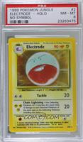 Electrode (Error: Missing Set Symbol) [PSA 8 NM‑MT]