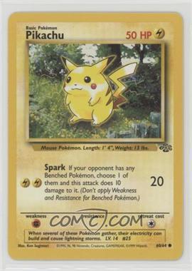 1999 Pokemon Jungle - [Base] #60 - Pikachu