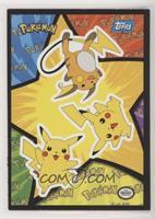 Pikachu, Raichu