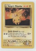 Lt. Surge's Pikachu [Noted]