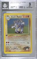 Brock's Rhydon (Holo) [BGS9MINT]
