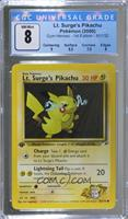 Lt. Surge's Pikachu [CGCGaming8]