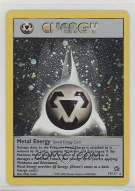 2000 Pokemon Neo Genesis - [Base] - Unlimited #19 - Metal Energy