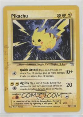 2000 Pokemon Neo Genesis - [Base] - Unlimited #70 - Pikachu