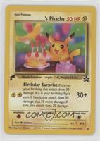 Birthday Pikachu (English)