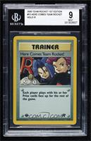 Here Comes Team Rocket! (Holo) [BGS9MINT]