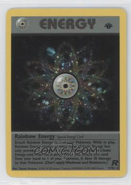 2000 Pokemon Team Rocket - Booster Pack [Base] - 1st Edition #17 - Rainbow Energy