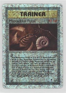 2002 Pokemon Legendary Collection - Booster Pack Reprint Set - Reverse Foil #109 - Mysterious Fossil