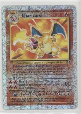 2002 Pokemon Legendary Collection - Booster Pack Reprint Set - Reverse Foil #3 - Charizard